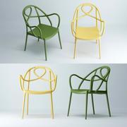 Krzesło Etoile 3d model
