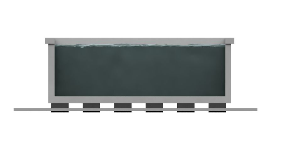 WATER STORAGE TANK royalty-free 3d model - Preview no. 3