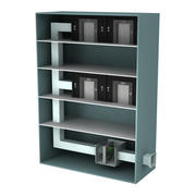 Aufzug Lobby Druckventilator (1) 3d model