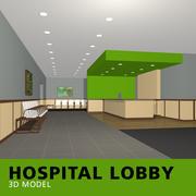 Hospital Lobby 3d model