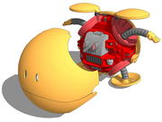 HAROPLAハロシューティングオレンジ 3d model