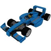 LEGO Formula 3d model