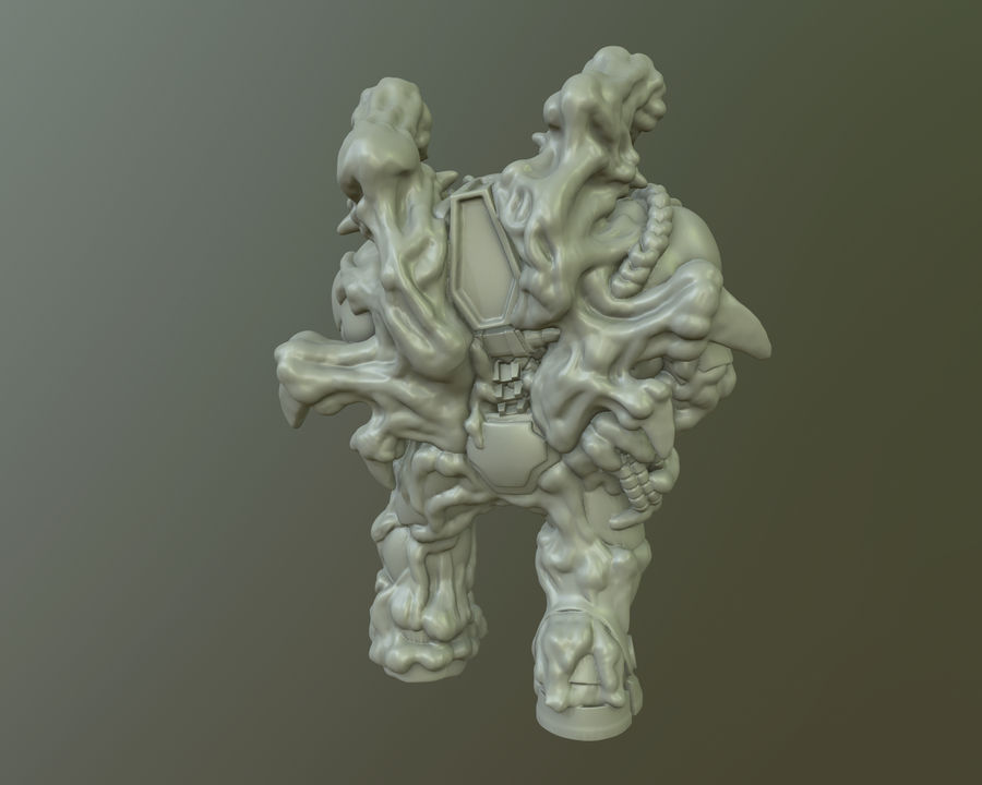 Blizzard StarCraft Infested Terran Figure