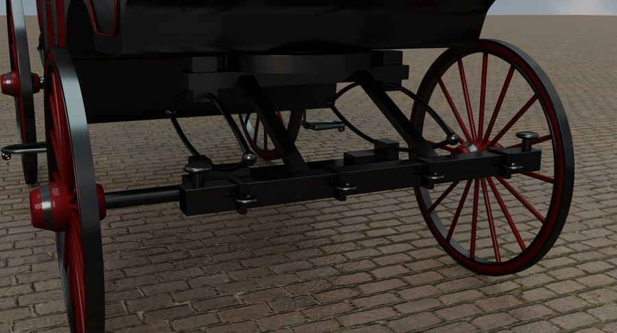 Carriage royalty-free 3d model - Preview no. 22