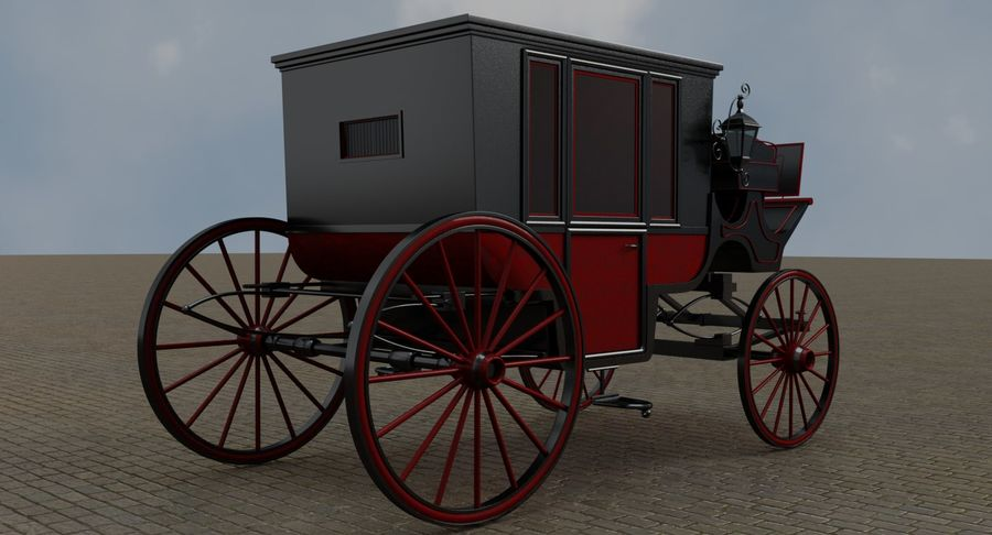 Carriage royalty-free 3d model - Preview no. 4