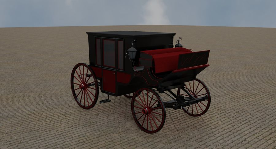 Carriage royalty-free 3d model - Preview no. 7
