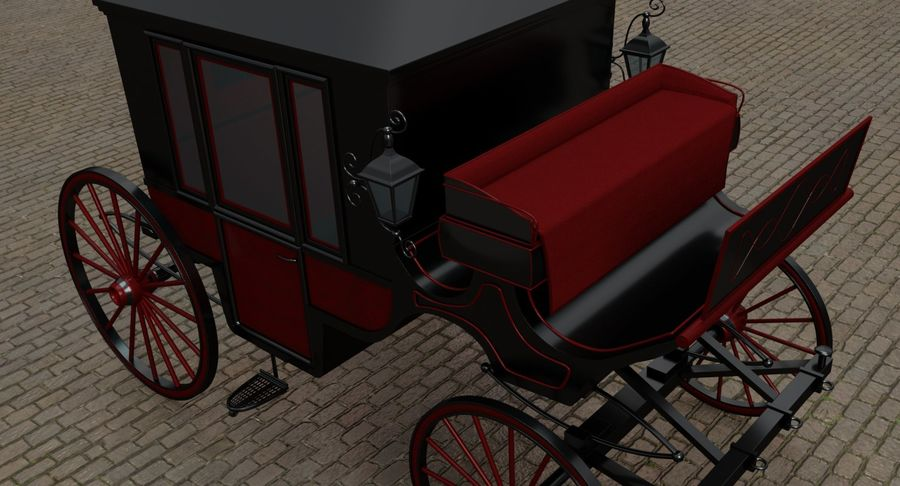 Carriage royalty-free 3d model - Preview no. 12