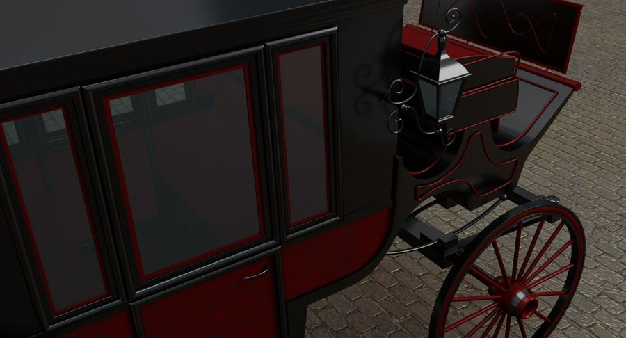 Carriage royalty-free 3d model - Preview no. 13