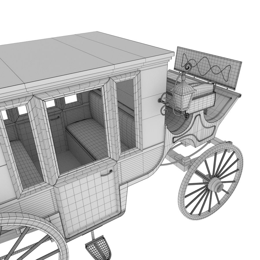 Carriage royalty-free 3d model - Preview no. 26