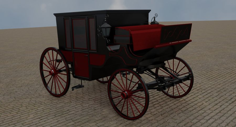 Carriage royalty-free 3d model - Preview no. 17