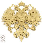 Emblema ruso / Escudo de armas () modelo 3d