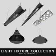 Işık Fikstürü Koleksiyonu 3d model