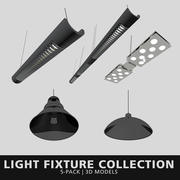 Light Fixture Collection 3d model
