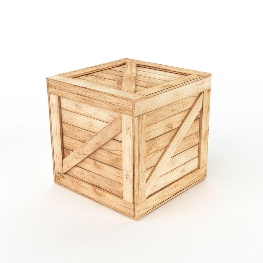 木箱コレクション royalty-free 3d model - Preview no. 8