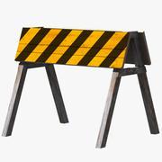 Barricade 3d model