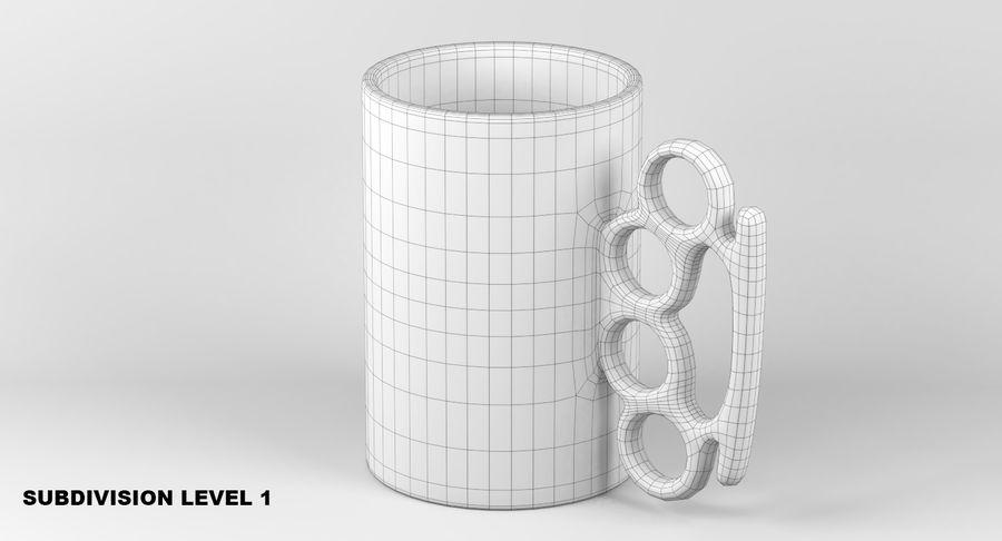 Knokkel mok royalty-free 3d model - Preview no. 10