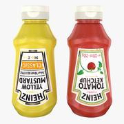 Ketchup and Mustard(1) 3d model