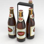 Butelka piwa Saigon Export 355 ml 3d model