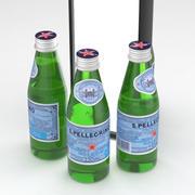 San Pellegrino Water Bottle 250ml 3d model