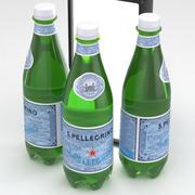 San Pellegrino Water Bottle 500ml 3d model