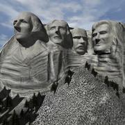 Monte Rushmore 3d model