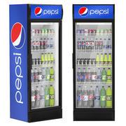 Pepsi refrigerator 3d model