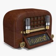 Vintage Radio 3D Model 3d model