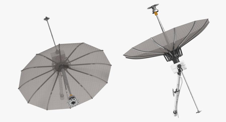 Mesh Dish Antenna royalty-free 3d model - Preview no. 5