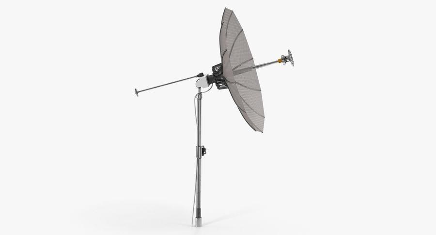 Mesh Dish Antenna royalty-free 3d model - Preview no. 2