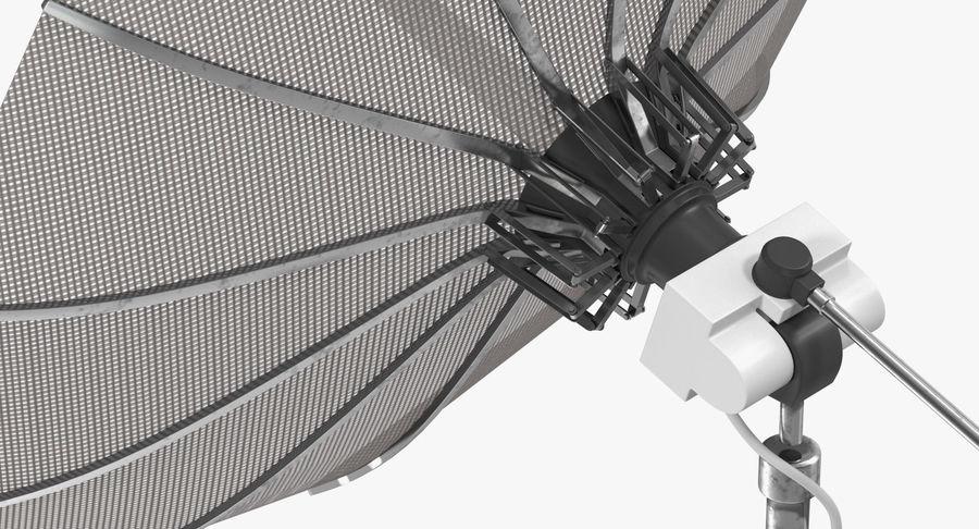 Mesh Dish Antenna royalty-free 3d model - Preview no. 7
