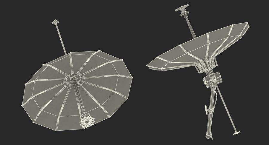 Mesh Dish Antenna royalty-free 3d model - Preview no. 16