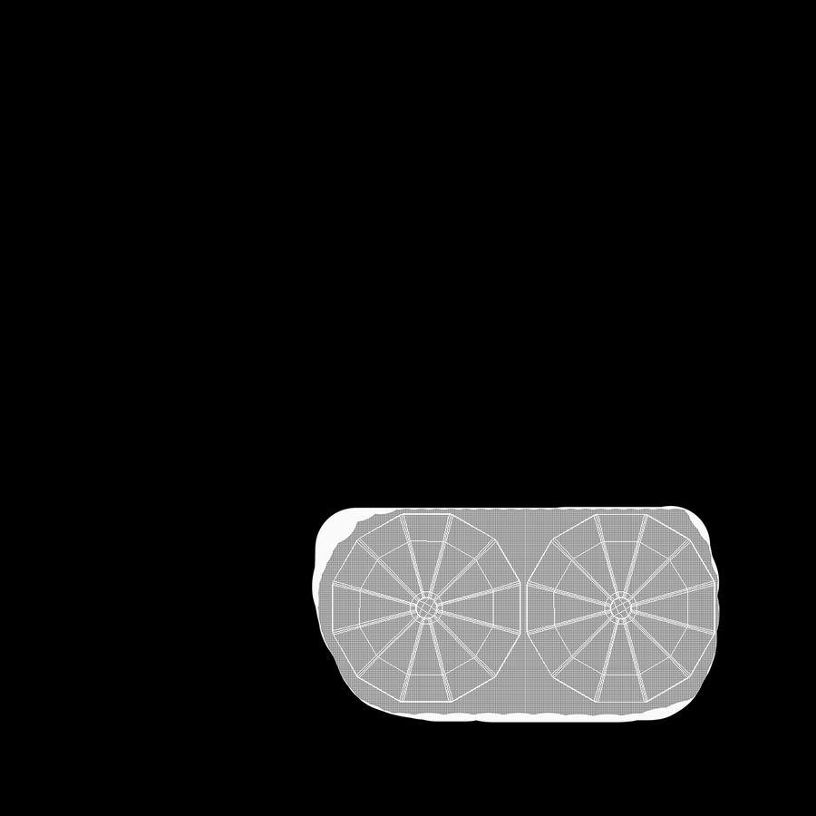 Mesh Dish Antenna royalty-free 3d model - Preview no. 11