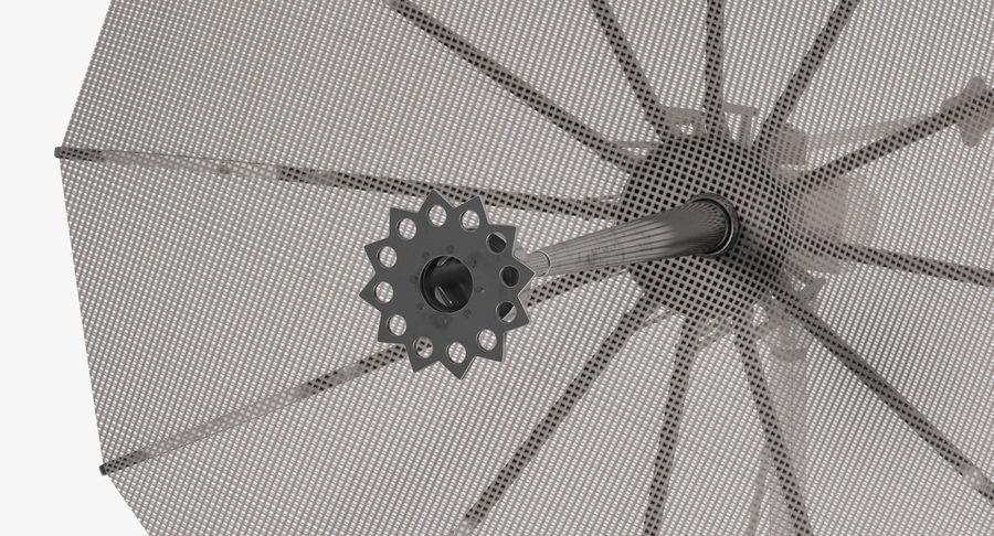 Mesh Dish Antenna royalty-free 3d model - Preview no. 6
