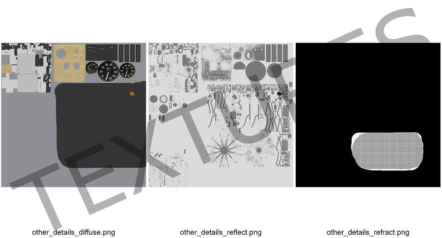 Mesh Dish Antenna royalty-free 3d model - Preview no. 12