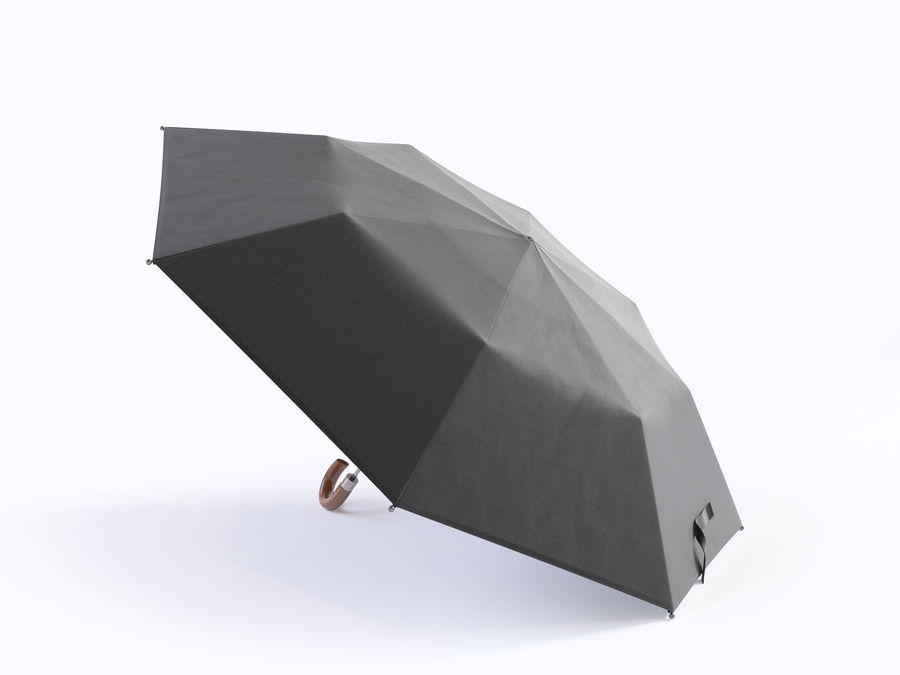 Open umbrella royalty-free 3d model - Preview no. 8