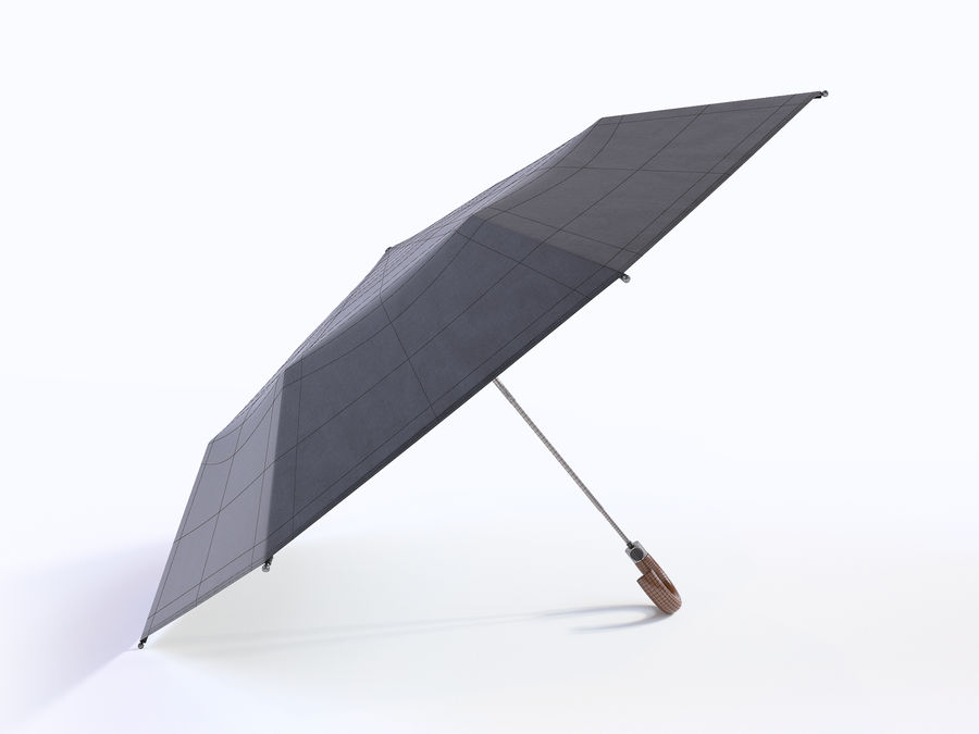 Open umbrella royalty-free 3d model - Preview no. 16