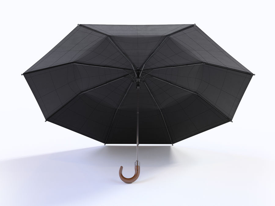 Open umbrella royalty-free 3d model - Preview no. 15