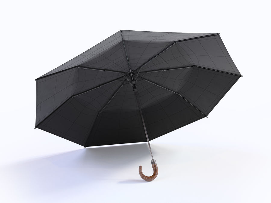Open umbrella royalty-free 3d model - Preview no. 17