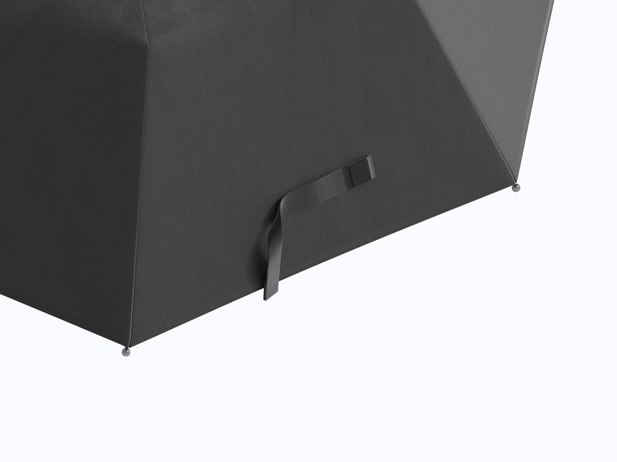 Open umbrella royalty-free 3d model - Preview no. 9