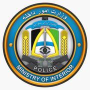 Emblema dell'Afghanistan del Ministero degli Interni 3d model