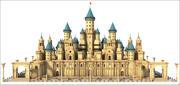 Goblins Fantasy Castle 3d model