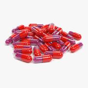 Pilules 5 3d model