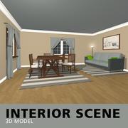 Inre scen 3d model