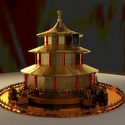 Torre china modelo 3d