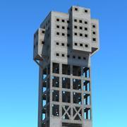 しめ鉱山タワー 3d model
