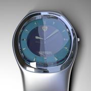 metal wrist watch 3d model