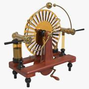 Victorian Wimshurst machine 3d model