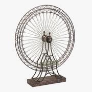 Ferris Wheel Statue 3d model