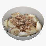 Cereal Breakfast 01 3d model