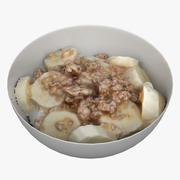 Spannmål Frukost 01 3d model